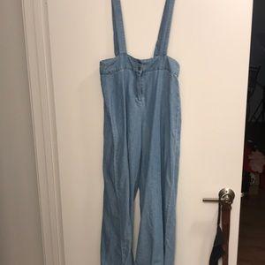 En creme new half jumpsuit! Medium